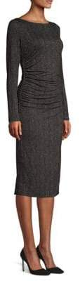 Max Mara Labile Herringbone Jersey Sheath Dress