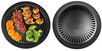 LACASA Non-Stick Surface Healthy Smokeless Stove Top Grill, Indoor BBQ - Cook Your Meat And Vegetables The Healthy Way With The Reduce Of Mess And Easy Clean Up