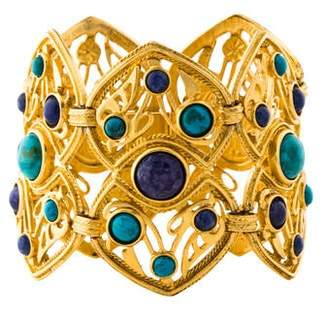 Ben-Amun Turquoise & Sodalite Link Bracelet