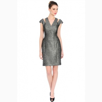 Kay Unger Sultry Smokey Cocktail in Smoke $400 thestylecure.com