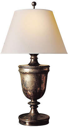 Visual Comfort & Co. Classical Urn Table Lamp - Sheffield Nickel