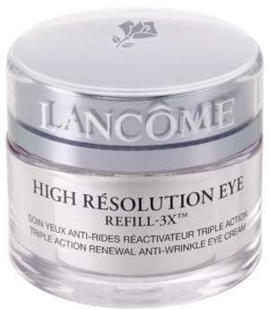 Lancôme High Resolution Eye Refill-3X Triple Action Renewal Anti-Wrinkle Eye Cream/0.5 oz.