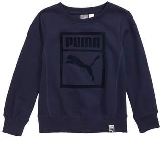 Puma Heritage Fleece Sweatshirt