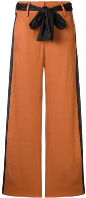 Just Cavalli contrasting side panels trousers