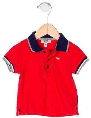 Giorgio Armani Baby Boys' Short Sleeve Polo Shirt