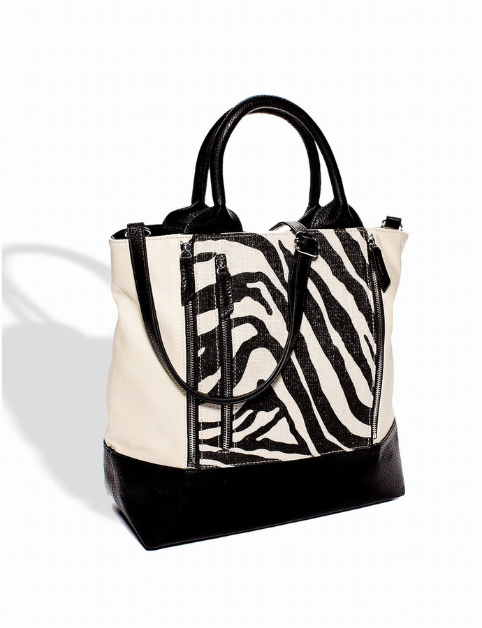 The Limited Zip-Off Pouch Tote