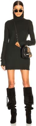 Unravel Cashmere Turtle Neck Short Dress