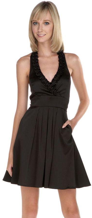 Jump girl halter party dress