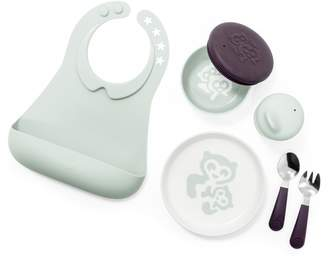 Stokke Munch Complete Bib, Lidded Bowl, Sippy Cup, Plate, Fork & Spoon Set