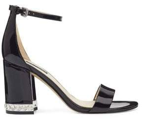 Nine West Abigail Patent Leather Heeled Sandals