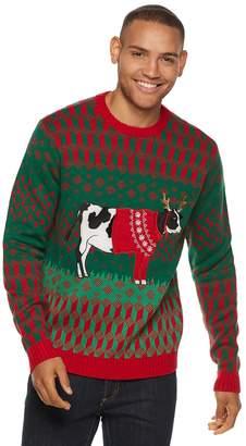 Men's Cow Christmas Sweater