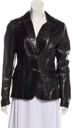 Henry Beguelin Leather Jacket