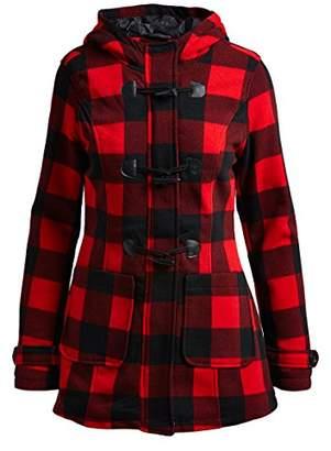 Yoki Women's Toggle Fleece Jacket Hoody