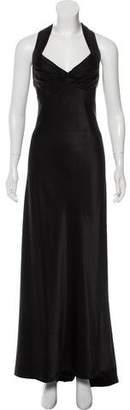 Calvin Klein Collection Sleeveless Sheath Gown