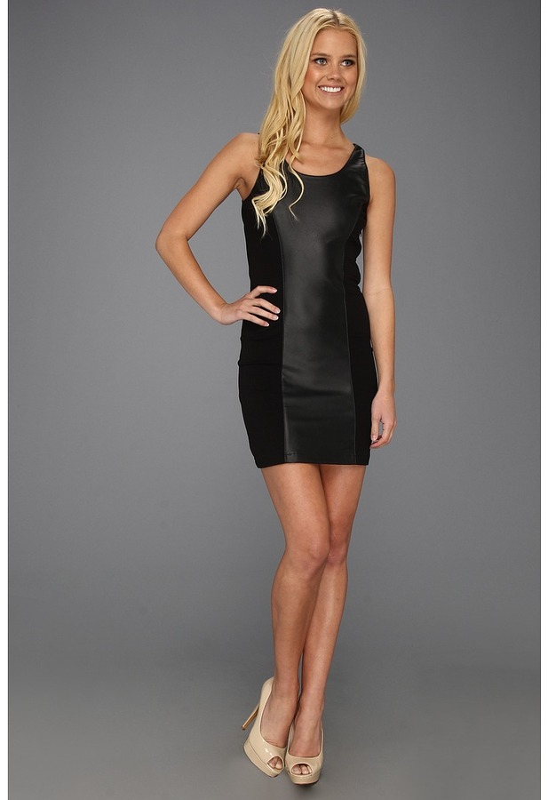 BB Dakota Avis Dress (Black) - Apparel
