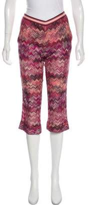 Missoni Mid-Rise Crop Pants