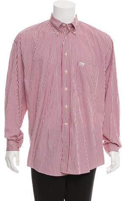 Façonnable Striped Button-Up Shirt