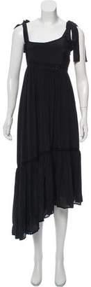 Ulla Johnson Silk Maxi Dress