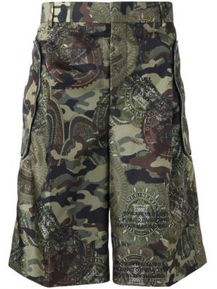 Givenchy Men's Green Bermuda Shorts $945 thestylecure.com
