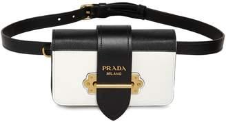 Prada Cahier Saffiano Leather Belt Pack