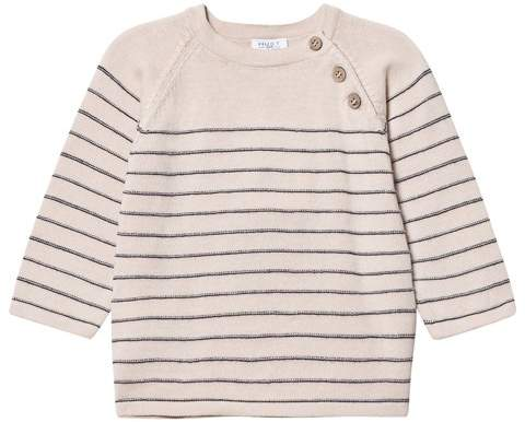 Hust&Claire Birch Striped Knitted Sweater