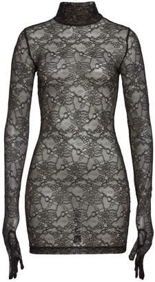 Vetements Lace Mini Dress