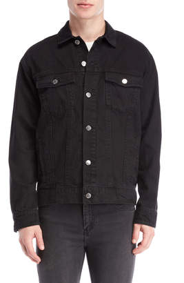 Cheap Monday Black O-Size Shirt Jacket