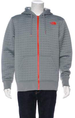 The North Face Quilted Logo Hoodie