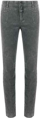 Closed pocket front jeans