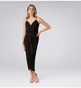 Ever New Charlotte Petite Drape Maxi Dress