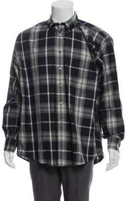 Burberry Nova-Check Button-Up Shirt