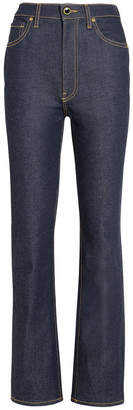 KHAITE Victoria High-Rise Straight Jeans