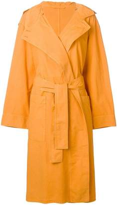 Lemaire oversized trench coat
