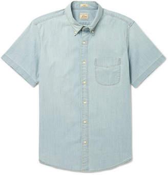 J.Crew Slim-Fit Cotton-Blend Chambray Shirt