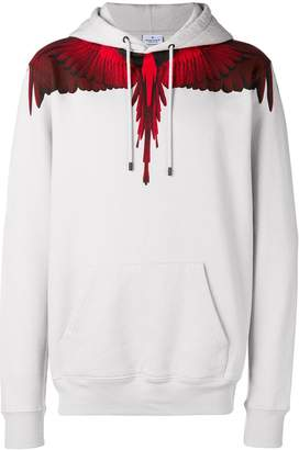 Marcelo Burlon County of Milan Wings long-sleeve hoodie