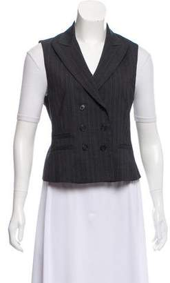Theory Peak-Lapel Wool Vest