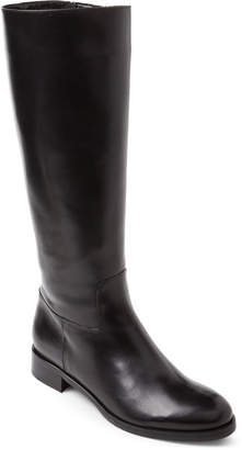 Luca Grossi Black Lined Leather Riding Boots