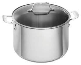 Emeril Stainless Steel Cookware Covered Stock Pot 12-Quart