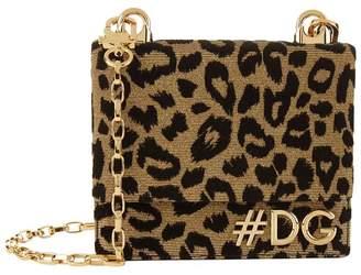 Dolce & Gabbana Girls Leopard Cross Body Bag