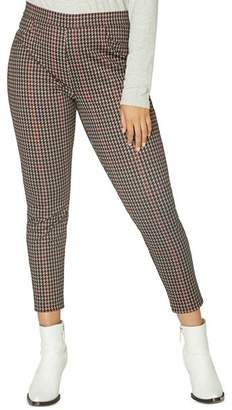 Sanctuary Curve Grease Houndstooth Leggings