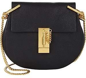 Chloé Women's Drew Mini Leather Crossbody Bag - Black
