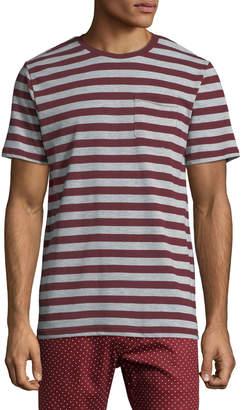 Sovereign Code Men's Jakov Striped Crewneck T-Shirt