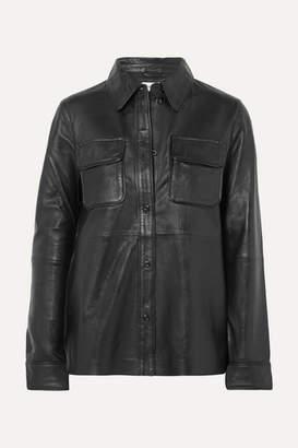 Stand Studio - Leather Shirt - Black