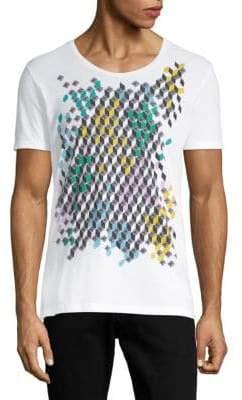 Antony Morato Multicolored Graphic Cotton Tee