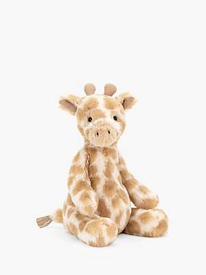 Jellycat Puffles Giraffe Soft Toy, Medium