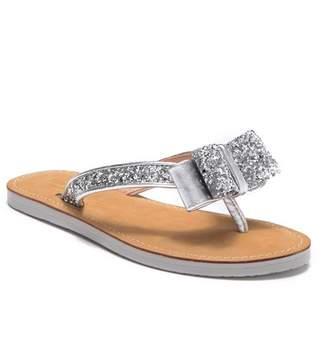 Kate Spade Icarda Glitter Bow Flip-Flop