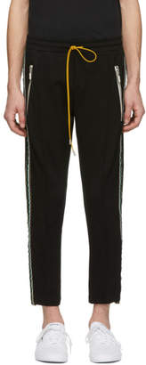 Rhude Black Traxedos Trousers