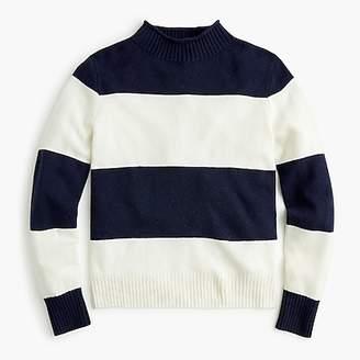 Women's 1988 rollneckTM sweater in wide stripes