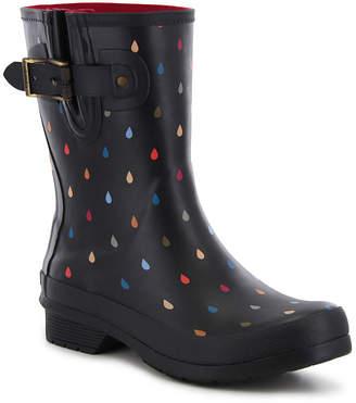 Western Chief Womens Rain Boots Waterproof Flat Heel Pull-on Wide Width