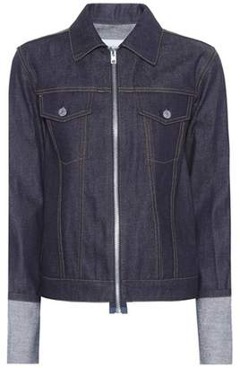 Helmut Lang 2004 Zip denim jacket